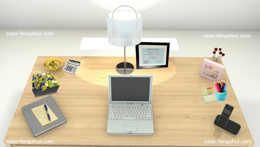 Coloca el mapa bagua en tu escritorio feng shui casa for Como decorar la oficina segun el feng shui