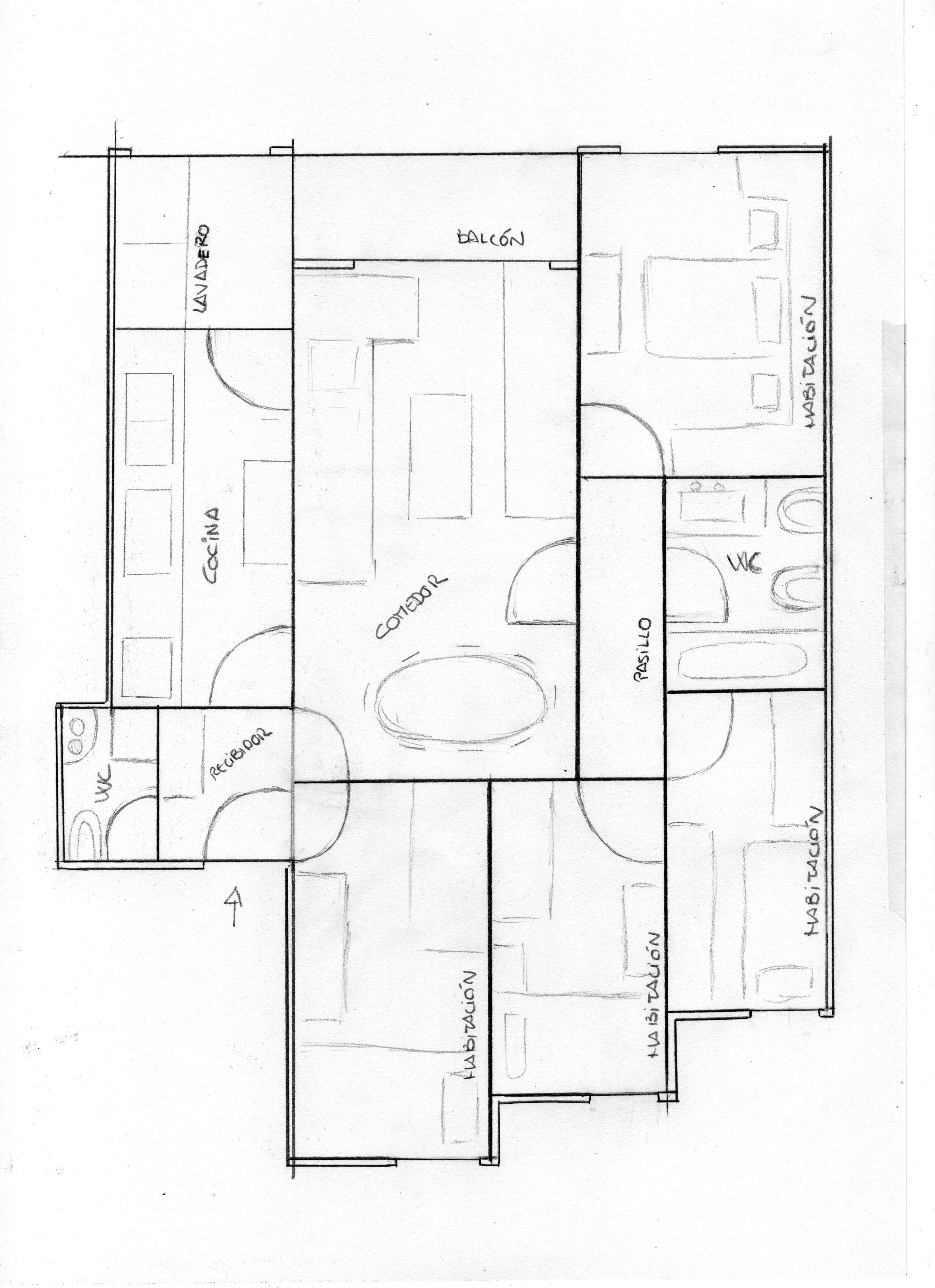Bagua en piso irregular casa feng shui - Entrada de un piso feng shui ...