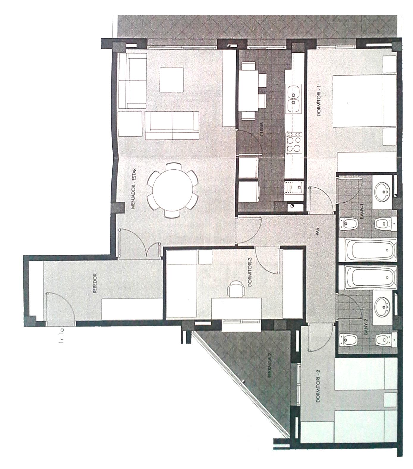 Mapa bagua casa feng shui for Fotos de casas en forma de l